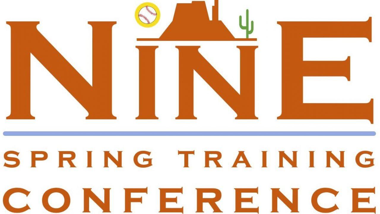 Nine script logo